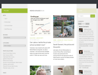 blogistan.co.uk screenshot
