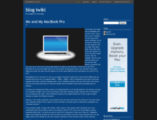 blogiwiki.com screenshot
