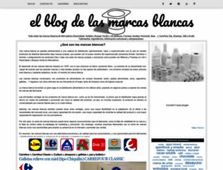 blogmarcasblancas.com screenshot