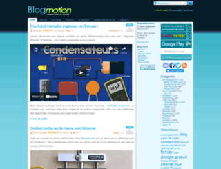 blogmotion.fr screenshot