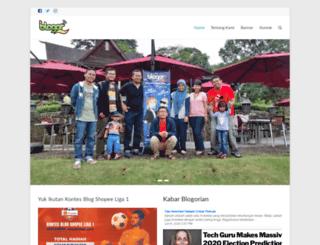blogor.org screenshot
