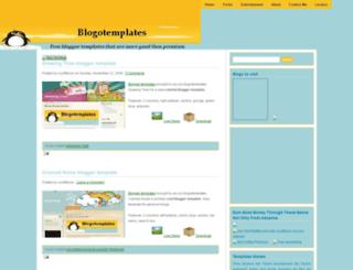 blogotemplates.blogspot.com screenshot