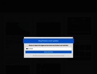 blogpreston.co.uk screenshot