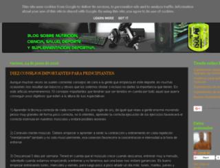 blogproteinweb.blogspot.com.es screenshot