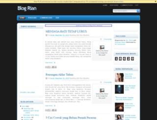 blogrianmultimedia.blogspot.com screenshot