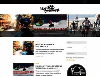 blogrowerowy.pl screenshot