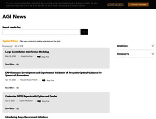 blogs.agi.com screenshot