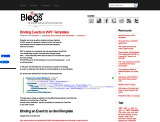 blogs.artinsoft.net screenshot
