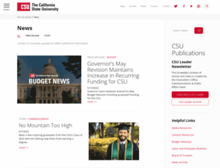 blogs.calstate.edu screenshot