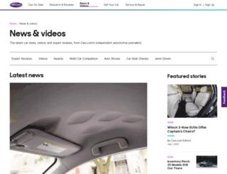 blogs.cars.com screenshot