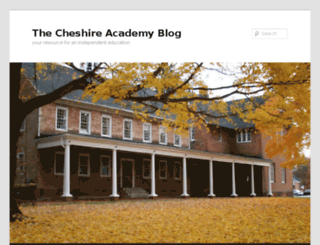 blogs.cheshireacademy.org screenshot