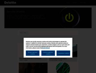 blogs.deloitte.co.uk screenshot