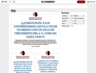 blogs.elcomercio.es screenshot