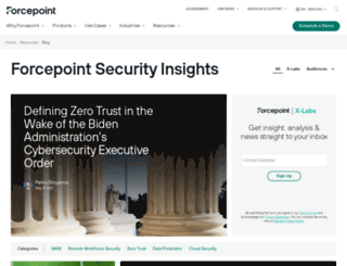 blogs.forcepoint.com screenshot