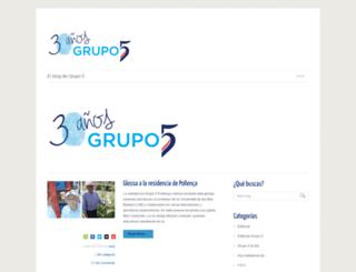 blogs.grupo5.net screenshot