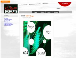 blogs.kusp.org screenshot