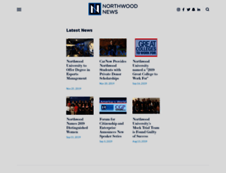 blogs.northwood.edu screenshot