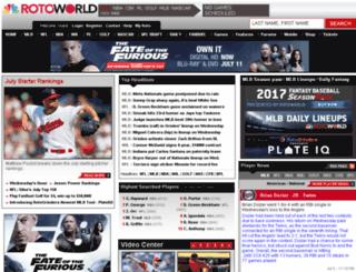blogs.rotoworld.com screenshot