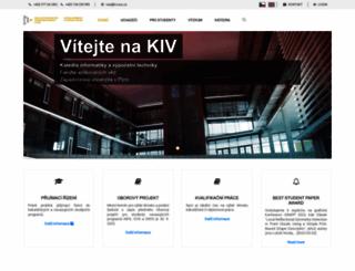 blogspot.zcu.cz screenshot