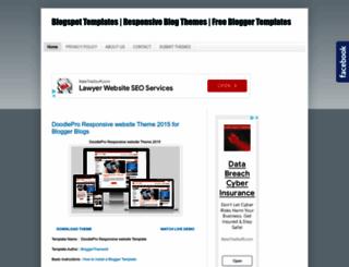 blogspotblogtemplates.blogspot.com screenshot