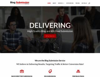 blogsubmissionservice.com screenshot