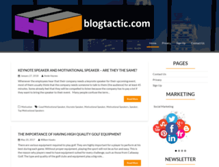 blogtactic.com screenshot