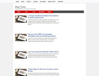blogtricksworlds.blogspot.com screenshot