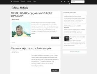 blogurtimasnoticias.blogspot.com.br screenshot