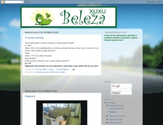 blogxuxubeleza.blogspot.com screenshot
