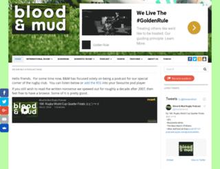 bloodandmud.com screenshot