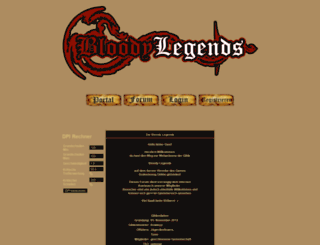 bloodylegends.forum.st screenshot