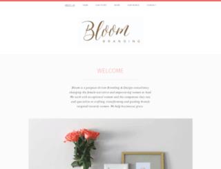 bloombrandstyling.com screenshot