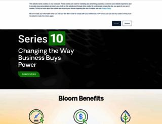 bloomenergy.com screenshot