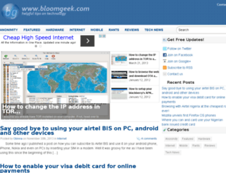 bloomgeek.com screenshot