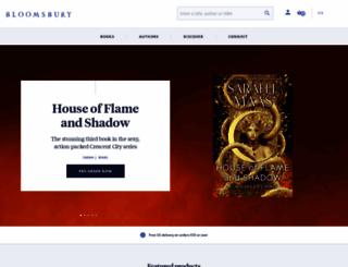 bloomsburyusa.com screenshot