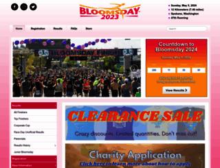 bloomsdayrun.org screenshot