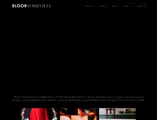 bloor-yorkville.com screenshot