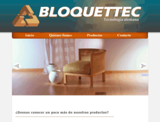 bloquettec.com screenshot