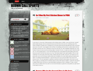 blowncall.wordpress.com screenshot