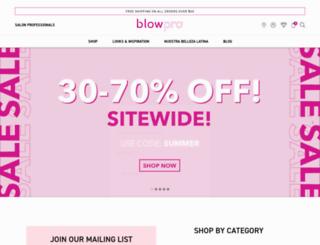 blowpro.com screenshot