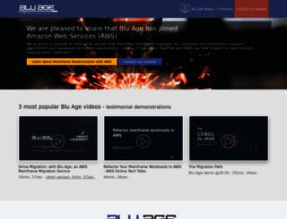 bluage.com screenshot