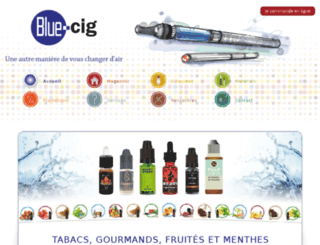 blue-cig.fr screenshot