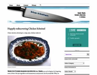 blue-kitchen.com screenshot