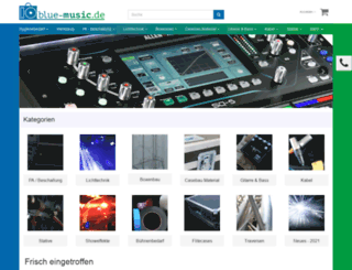 blue-music.de screenshot