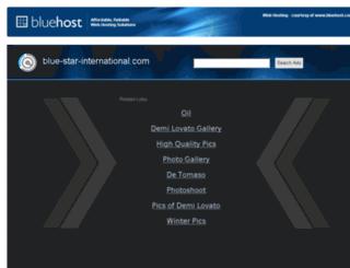 blue-star-international.com screenshot