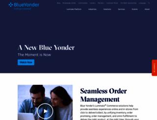 blue-yonder.com screenshot