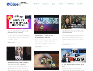 blue1hosting.com screenshot