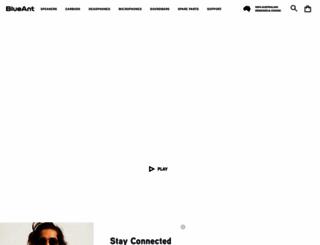 blueant.com.au screenshot