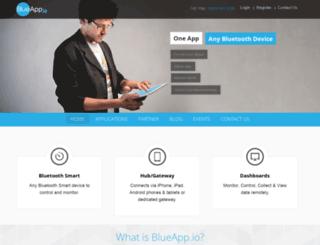 blueapp.io screenshot
