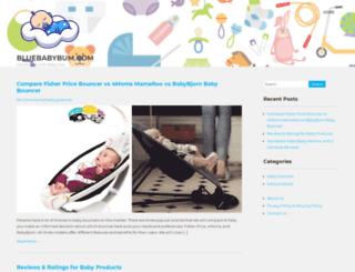 bluebabybum.com screenshot